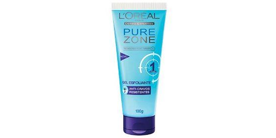 Esfoliante de pele Pure Zone Loreal