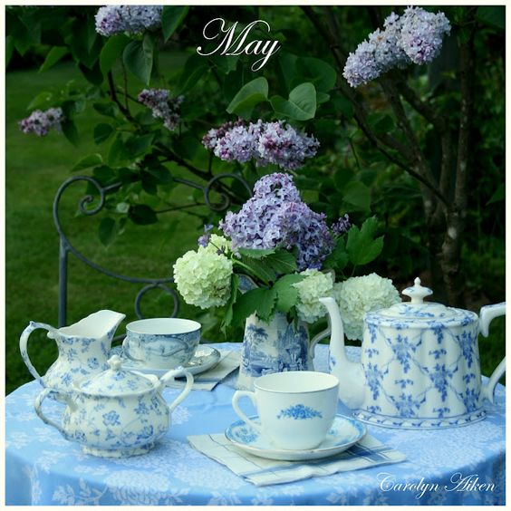 Teatime in May
