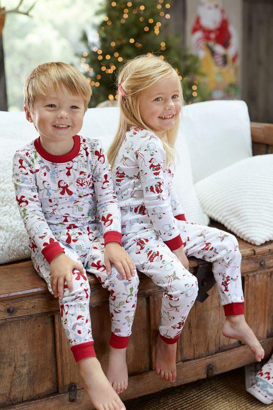 Christmas Morning Pajamas And Mornings On Pinterest