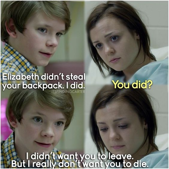 """#FindingCarter 1x02 """"The Birds"""" - Carter and Grant"""