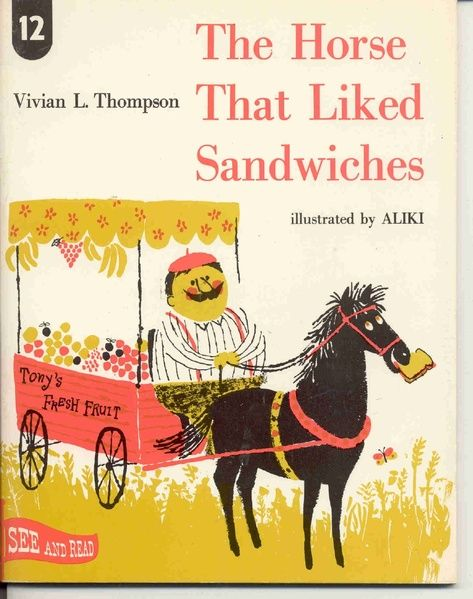 The Art of Children's Picture Books: Food in Vintage Children's Books: