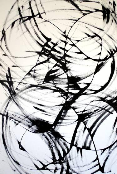 "Saatchi Art Artist Patrick Nikowitz; Painting, ""Attacus"" #art"