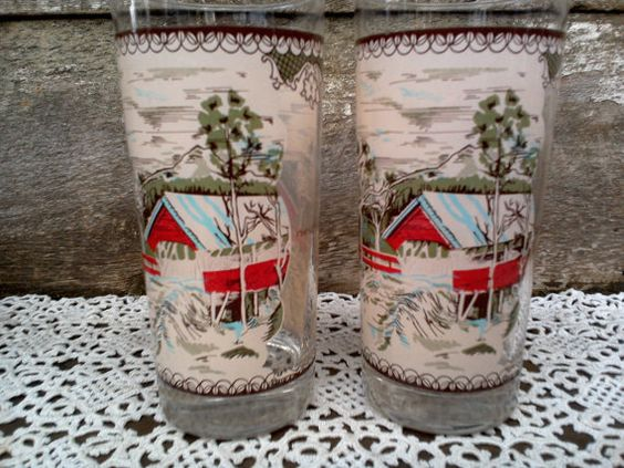 Set of 2 RARE Johnson Brothers Friendly by CottonCreekCottage