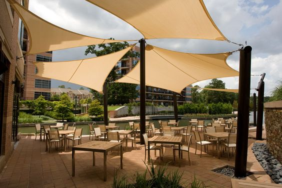 shade awnings for outdoor restaurants - - Yahoo Image Search Results