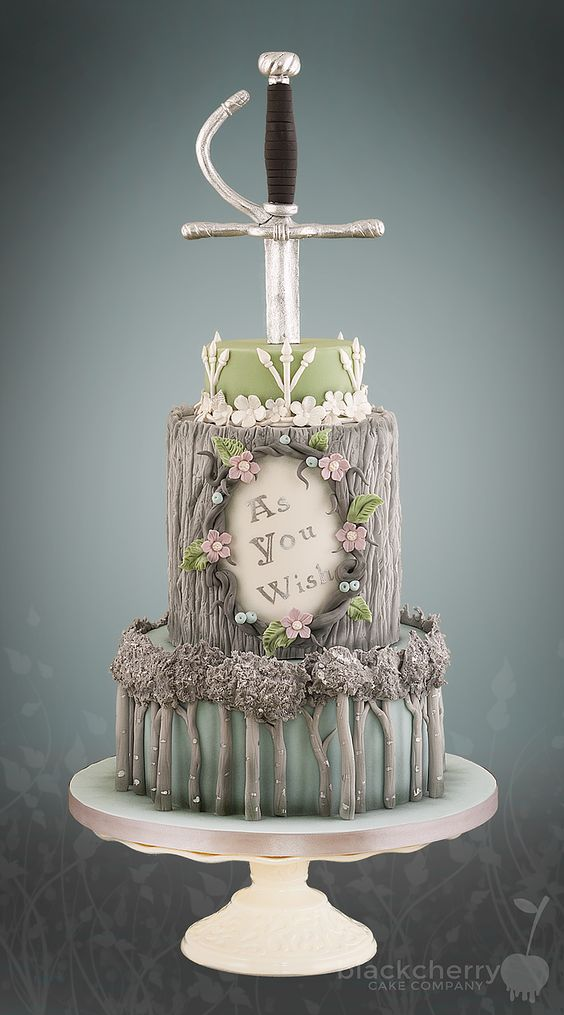 The Princess Bride cake:
