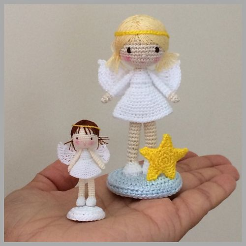 Angeli Amigurumi Tutorial : Crochet instructions, English and Patterns on Pinterest