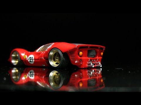 Aki Husoda Channel Hot Wheels Custom Ferrari 330 P4 Ford V Ferrari Youtube 2 29 2020 Hot Wheels Hot Wheels Cars Custom Hot Wheels