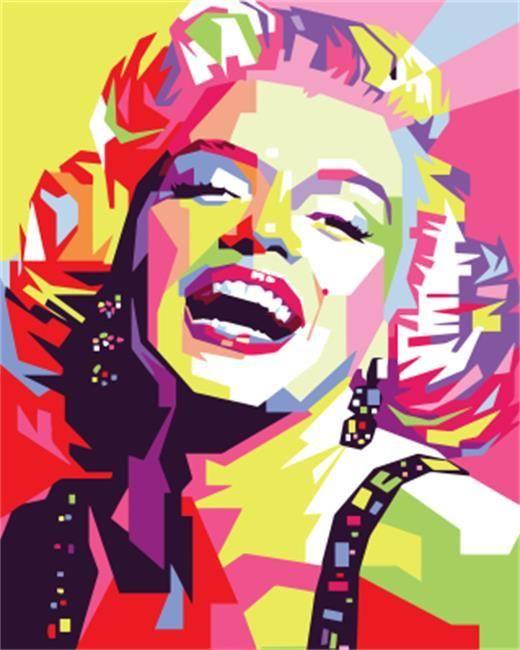 Marilyn Monroe Iconic Celebrities MULTI CANVAS WALL ART Picture Print VA