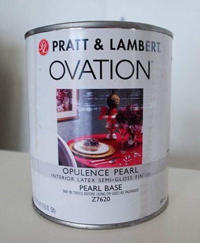 opulence pearl from Pratt & Lambert - found courtesy of Centsational Girl.