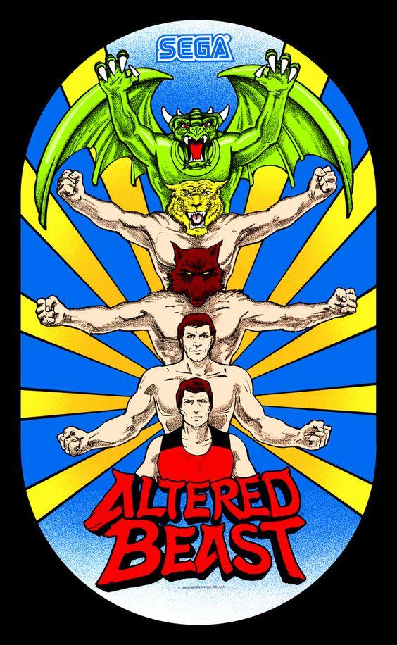 Altered Beast (Arcade) | Arcade Games | Pinterest | Altered beast ...