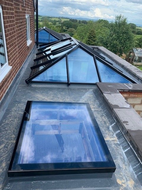 Skylight Discover Flat Roof Windows Ultraframe Home Improvements Install Flat Skylights In Clitheroe Burnley Lan In 2020 Flat Roof Lights Roof Skylight Flat Roof House