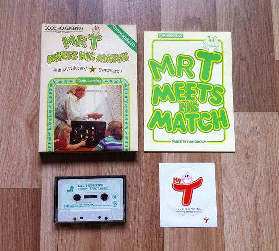 Mr. T Meets His Match (C64)