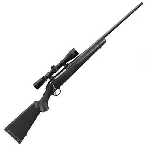 "Ruger American Bolt Action Rifle .308 Win 22"" Barrel 4 Rounds Synthetic Stock Black Finish with Redfield Revolution Riflescope 6953 - AMERSR - 736676069538"