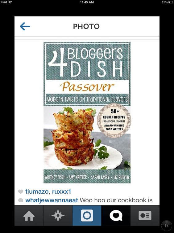 Best Passover Cookbook! Only available to download March 5, 2014. Www.thepatchkeprincess.com