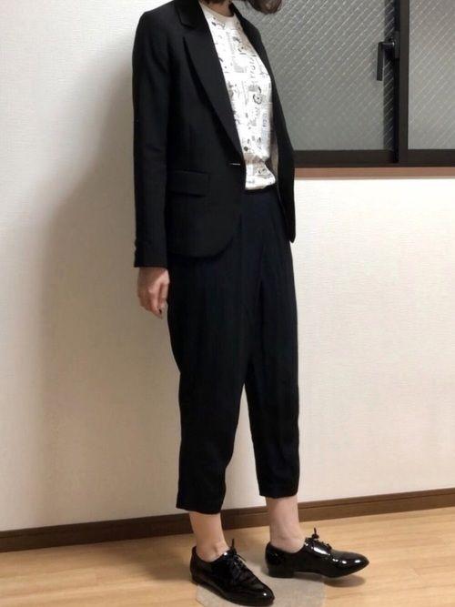 かばん持ち ユニクロのtシャツ カットソーを使ったコーディネート wear シャツ カットソー tシャツ ユニクロ