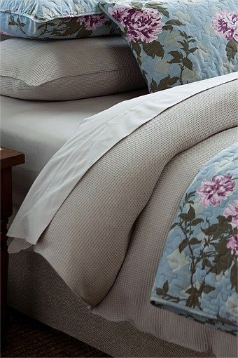 Taupe and blue purple floral
