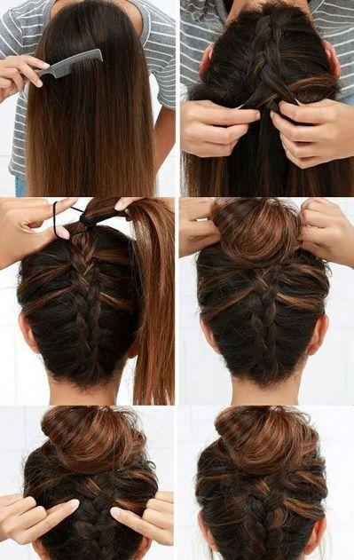 Per le mamme dai capelli lunghi:Manopola intrecciata