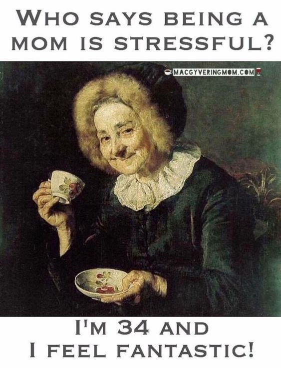 Daily Funny Mom Memes So Hilarious And Funny About General Life Who Says Being Mom Is Stressful I M 34 And I Feel Fan Funny Mom Memes Mommy Humor Mom Jokes