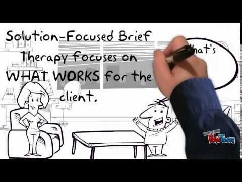 Film - Solution focused brief therapie (CBT + positieve psychologie + probleemoplossend)