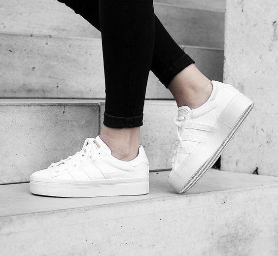 Adidas Superstars Plateau