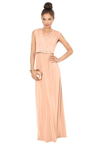 Images of Grecian Style Maxi Dress - Reikian