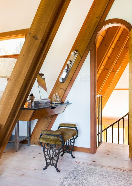 Make Space - This Hollywood Hills A-Frame Home Is Magical - Photos