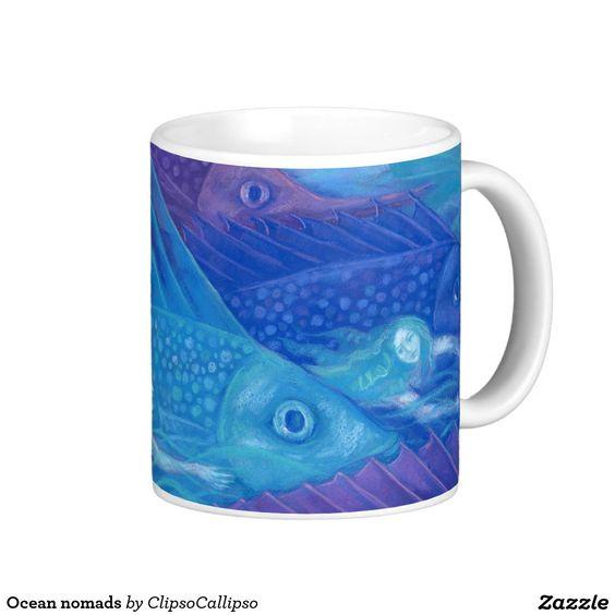 Ocean nomads classic white coffee mug