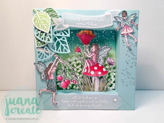 Juana Ambida | Fairy Celebration Magic | International blog hop Stampin' Up! #Fairycelebration,…