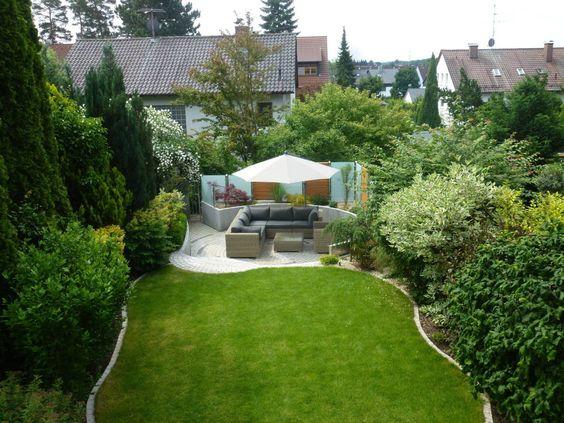 Wie kann ein kleiner Garten modern gestaltet werden? Kleine - garten neu gestalten vorher nachher