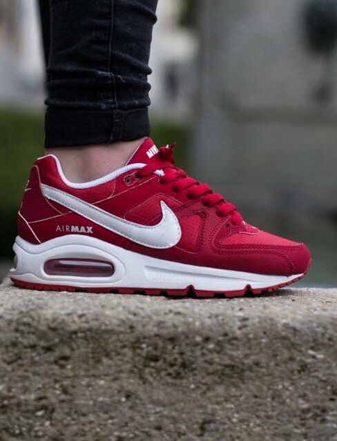 nike air max command red sneakers nike air max command. Black Bedroom Furniture Sets. Home Design Ideas