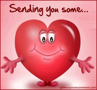 MORNING LAZYBONES ❤️* * * * * I'm Sending You A Hug To Let You Know, I LUV EVERY BIT OF YOU From Head To Toe!  ~c.c.c~ lovethispic.com