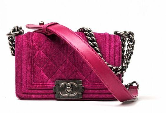 pink velvet boy chanel : fall 2012
