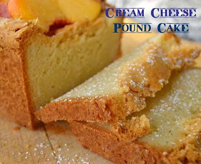 This is How I Cook: Cream Cheese Pound Cake - Or If I Were A Cake...