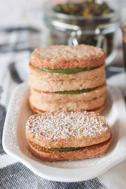 Pistachio Dacquoise--the macaron's country cousin | Tea Time Treats ...