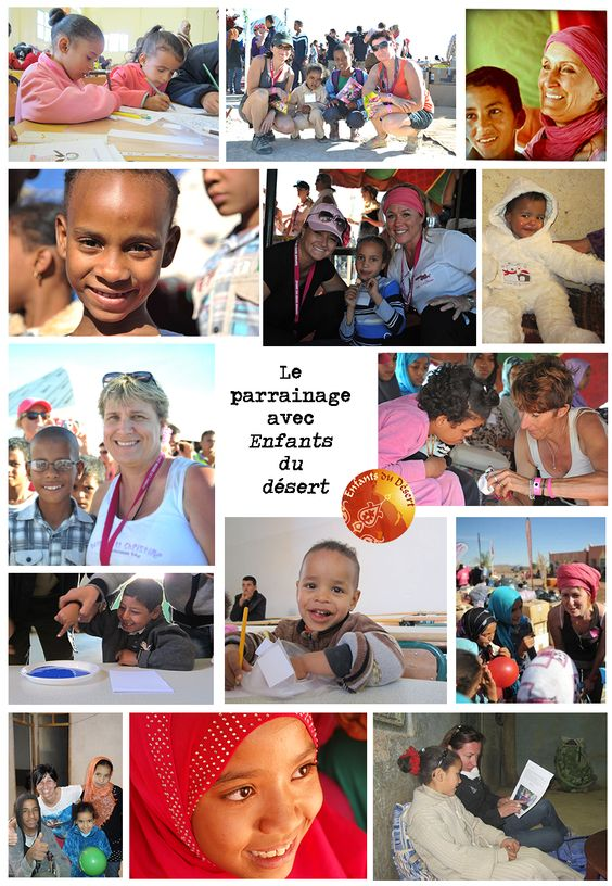 Parrainer un enfant, une expérience humaine très forte... Parrainage en Image - Association Enfants du désert