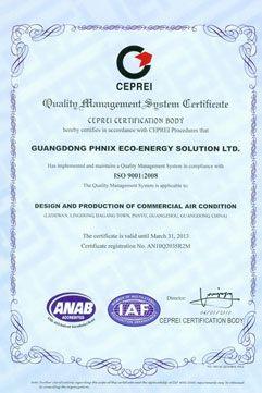ISO9001 Certificated Heat Pump