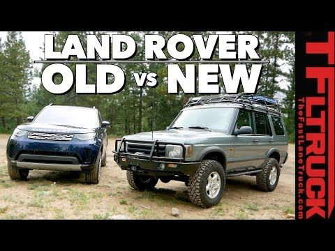Old Vs New Land Rover Discovery Can Old Gear Beat New Tech On Gold Mine Hill Youtube New Land Rover Discovery Land Rover Discovery New Land Rover