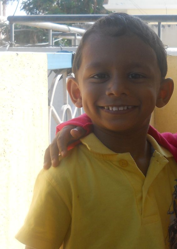 my cute little Bhagat !