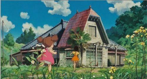 こうなってたんだ アニメに登場する家の間取り図5選 Studio Ghibli Films Totoro Maison Dessin