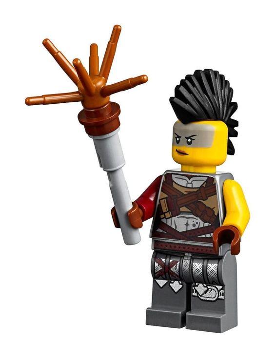 Apokalypstadt Abe Apocalypseburg Abe Minifig Figur LEGO 71023 The Lego Movie 2