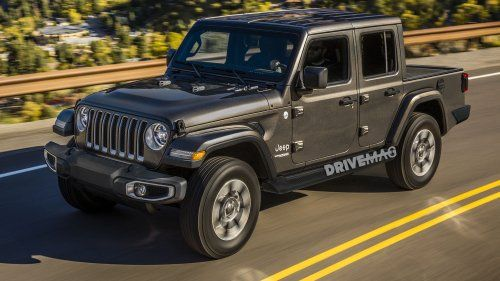 Jeep Wrangler Pickup Coming In 2019 We Picture How It Might Look