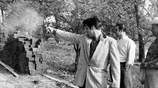 Elvis target practice 1957 #Graceland