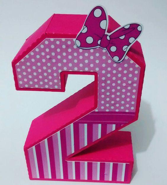 Número 3D by Fofurices Artesanatos