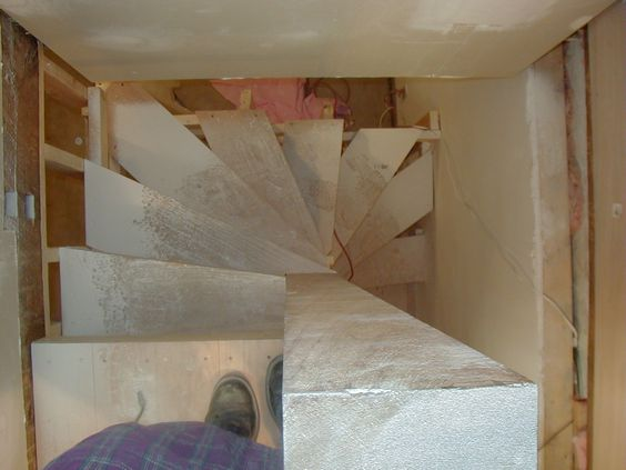 Best How To Build A Spiral Staircase Diy S Pinterest 400 x 300
