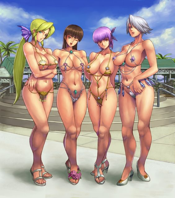 "DOAX2 ""swimsuits""."