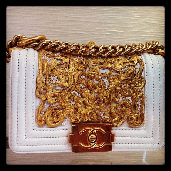 There is no question that this Chanel is a work of art.