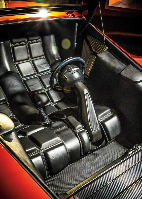 Marcello Gandini On Designing The Lancia Stratos Zero Automobile