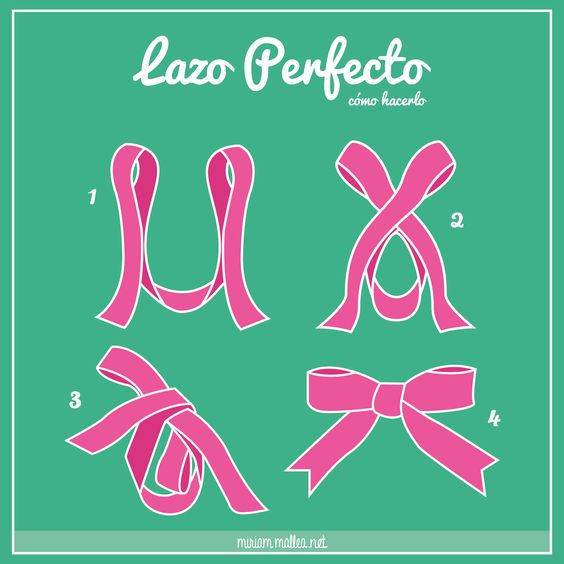 Cómo hacer un lazo perfecto / How to make a perfect bow!