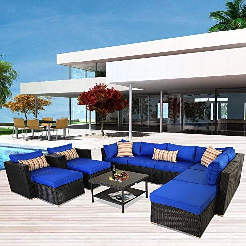 See Leaptime Patio Sofa Sectional Outdoor Couch Set 11 Piece G