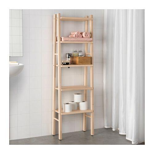 Vilto Shelving Unit Birch 46x150 Cm Ikea Ikea Small Spaces Furniture For Small Spaces Ikea Finds